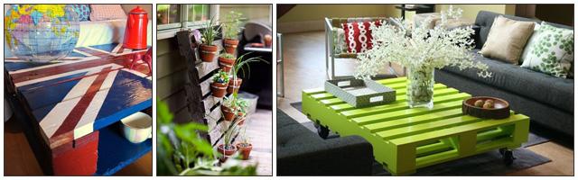 une d coration tout en palettes. Black Bedroom Furniture Sets. Home Design Ideas