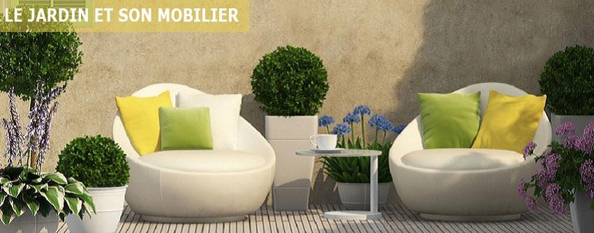 Décoration du jardin et son mobilier