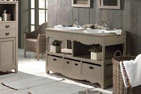 meuble salle de bain cottage belgique
